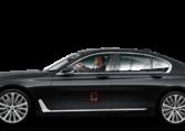BMW 7 Series Chauffeur Car Hire Dubai