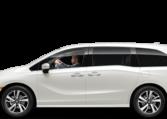 Honda Odyssey Chauffeur Car Hire Dubai