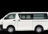 Toyota Hiace Chauffeur Van Hire Dubai