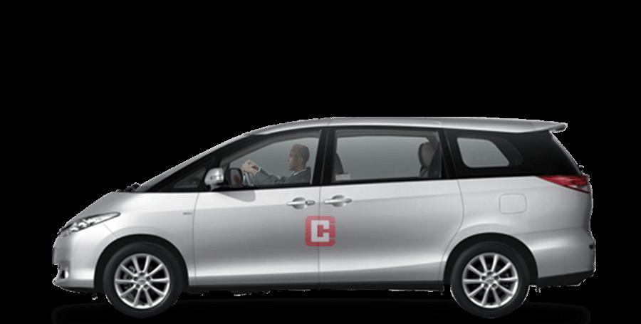 Toyota Previa Chauffeur Car Hire Dubai