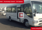 Rent 30-Seater-Toyota-Coaster with Driver in Dubai