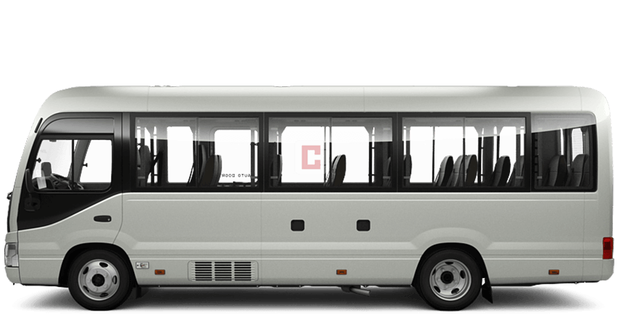 Chauffeur Driven 30-Seater-Toyota-Coaster in Dubai