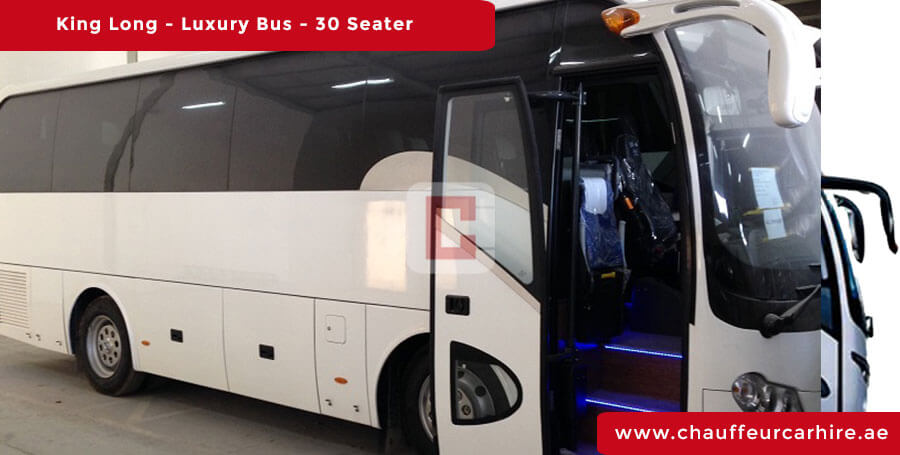 Hire 30-Seater-luxury-Bus with Driver in Dubai