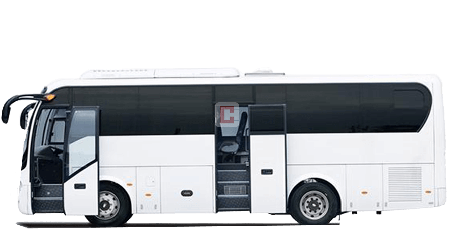 Chauffeur Driven 35-Seater-Luxury-Bus in Dubai