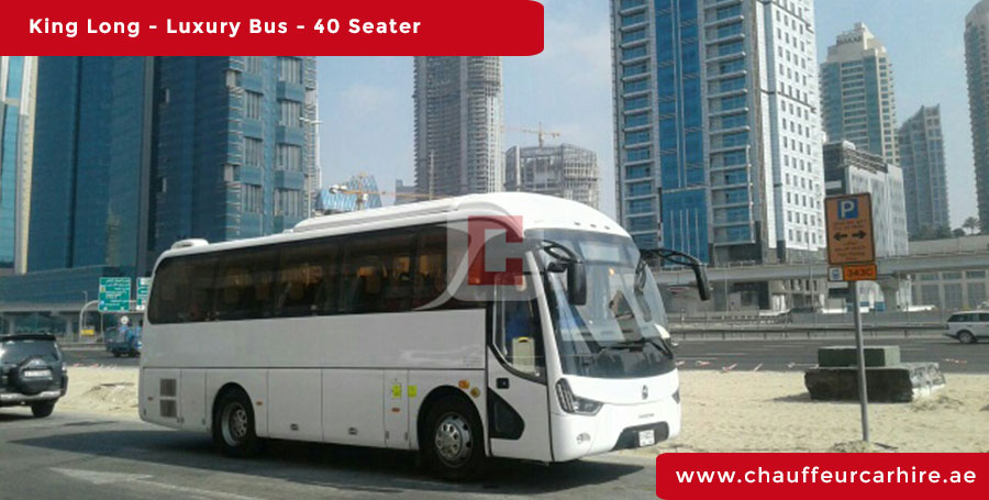 40-Seater-Luxury-Bus with Driver in Dubai