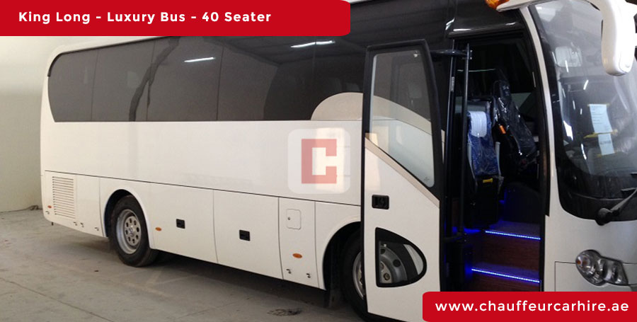 Hire 40-Seater-Luxury-Bus with Driver in Dubai