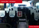 40-Seater-Luxury-Bus Chauffeur Car Hire Dubai