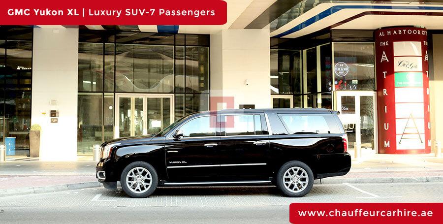 GMC Yukon XL with Driver in Dubai