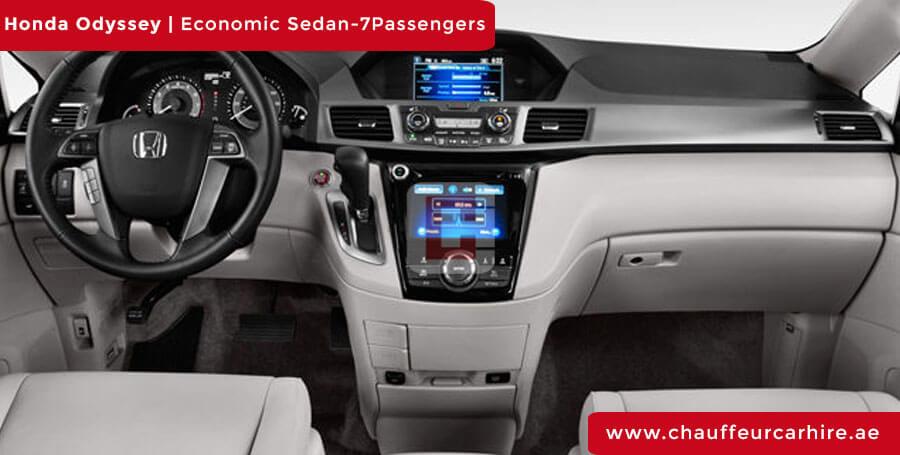 Chauffeur DrivenHonda Odyssey in Dubai