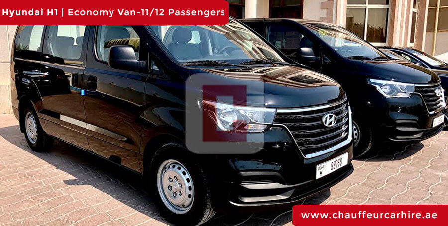Hire Hyundai H1 with Driver in Dubai