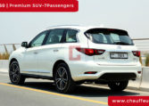 Rent Infinity QX 60 with Driver in Dubai