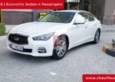 Chauffeur DrivenInfinity QX 70 in Dubai
