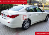 Rent Infinity QX 70 with Driver in Dubai