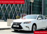 Lexus ES 350 with Driver in Dubai