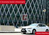 Chauffeur Driven Lexus ES 350 in Dubai