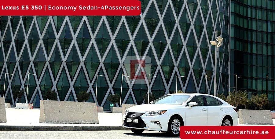Chauffeur DrivenLexus ES 350 in Dubai