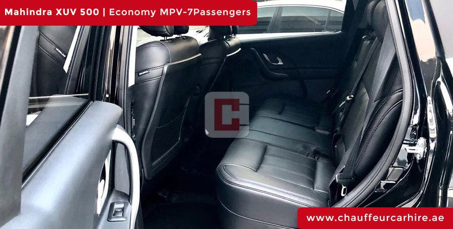 Mahindra XUV 500 with Driver in Dubai