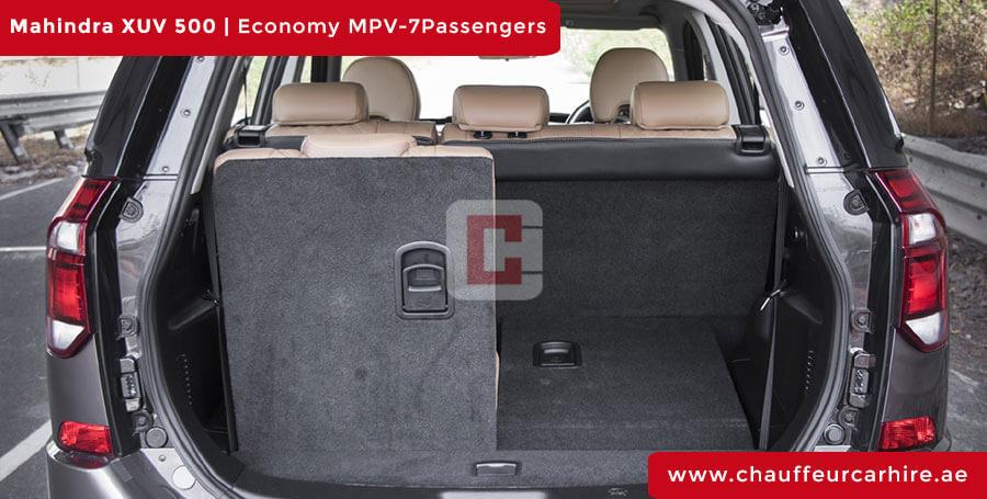 Mahindra XUV 500 Chauffeur Car Hire Dubai
