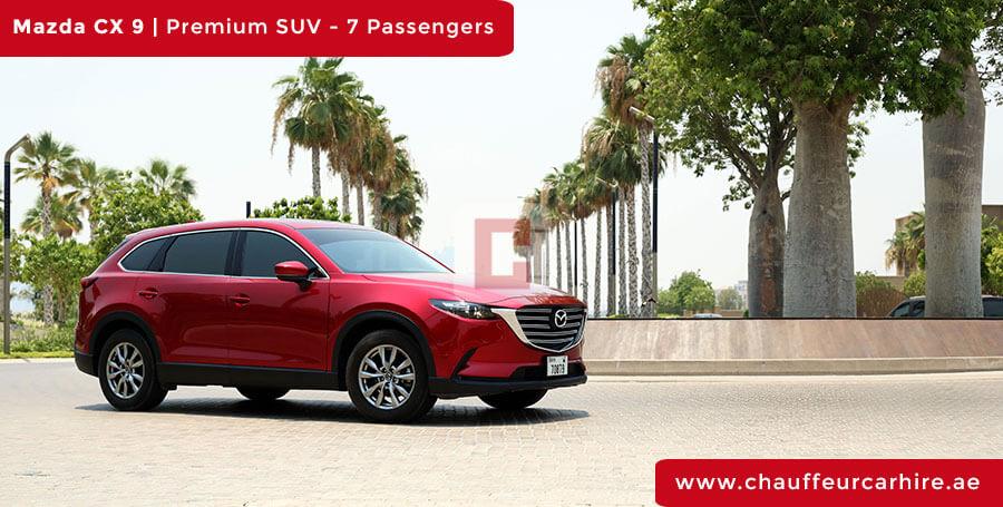 Rent Mazda CX 9 in Dubai