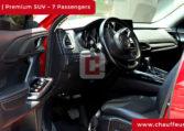 Mazda CX 9 with Driver in Dubai