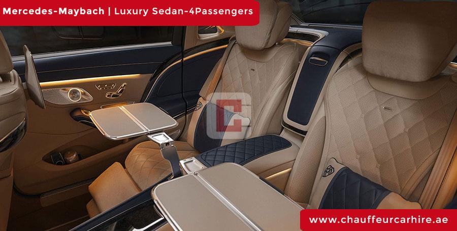 Mercedes Maybach Chauffeur Car Hire Dubai