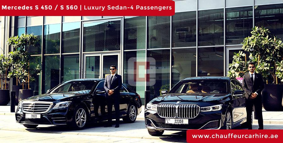 cheap car rental with driver in Dubai