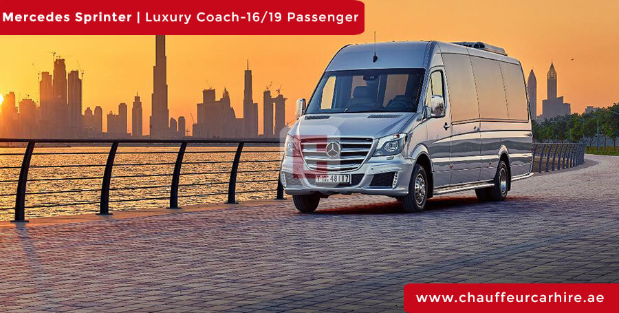 Mercedes Sprinter Chauffeur Car Hire Dubai