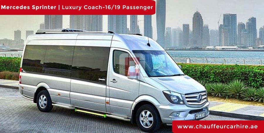 Chauffeur DrivenMercedes Sprinter in Dubai