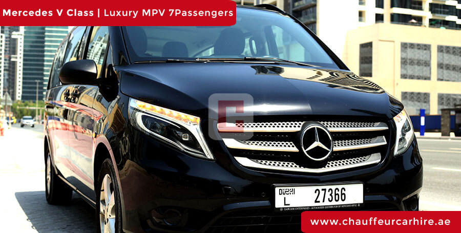 Mercedes V Class with Driver in Dubai