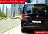 Rent Mercedes V Class with Driver in Dubai