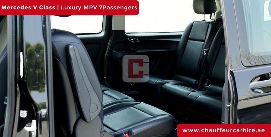 Chauffeur DrivenMercedes V Class in Dubai