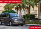 Rent Mercedes Viano in Dubai