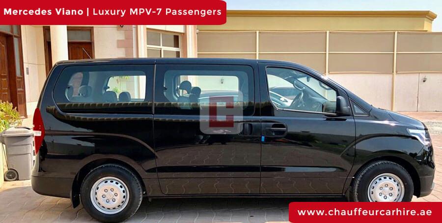 Rent Mercedes Viano with Driver in Dubai