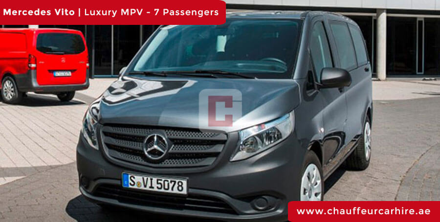 Rent Mercedes Vito with Driver in Dubai