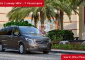 Hire Mercedes Vito with Driver in Dubai