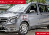 Mercedes Vito Chauffeur Car Hire Dubai