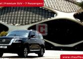 Chauffeur DrivenNissan Patrol in Dubai
