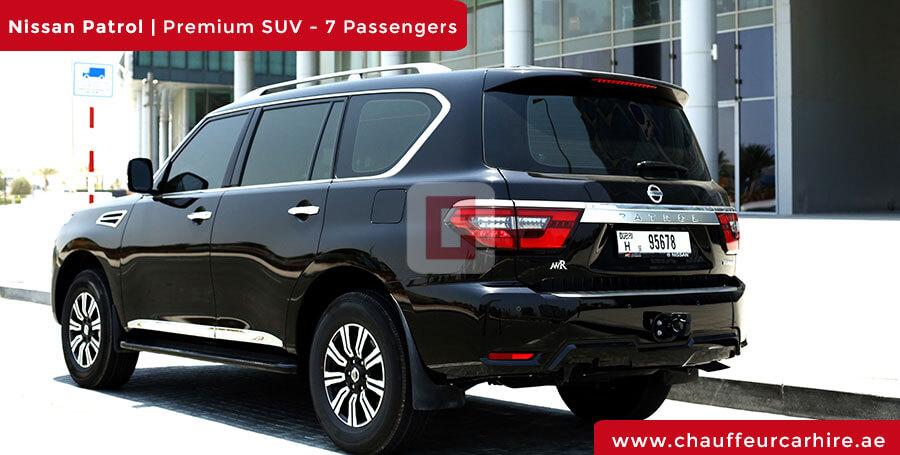 Nissan Patrol with Driver in Dubai