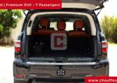 Nissan Patrol Chauffeur Car Hire Dubai