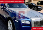 Hire Rolls Royce Ghost with Driver in Dubai