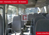Rent Toyota Coaster 22-Seater with Driver in Dubai