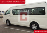 Rent Toyota Hiace with Driver in Dubai