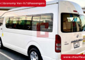 Hire Toyota Hiace with Driver in Dubai