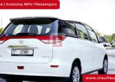 Toyota Previa with Driver in Dubai