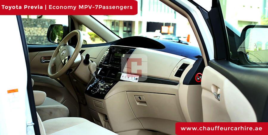 Hire Toyota Previa in Dubai