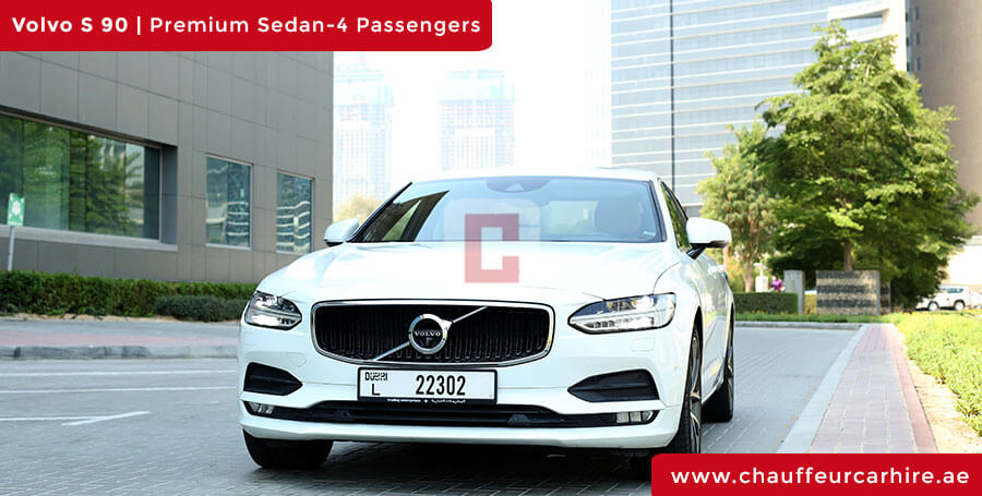 Chauffeur Driven Volvo S 90 in Dubai