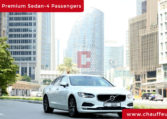 Volvo S 90 with Driver in Dubai