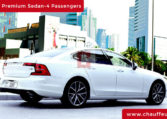 Hire Volvo S 90 with Driver in Dubai