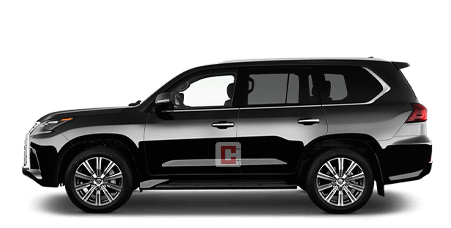 Lexus LX 570 with Driver in Dubai