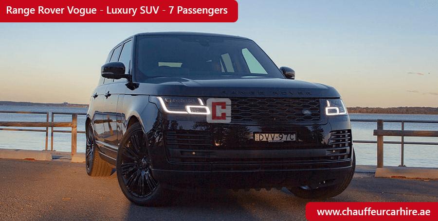 Range Rover Vogue Chauffeur Car Hire Dubai